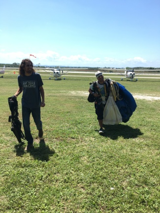 Skydive San Pedro at the 2017 Fly In at Spanish Lookout Belize